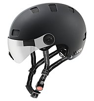 Uvex Casco bici City V, black matt