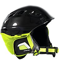 Uvex Comanche 2 - casco sci, Black/Green