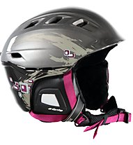 Uvex Comanche 2 - casco sci, Anthracite/Purple