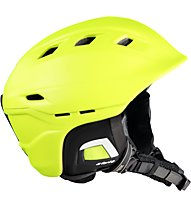 Uvex Comanche 2 - casco sci, Light Green/Green