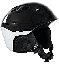 Uvex Comanche 2 Pure - Skihelm, Black/White