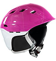 Uvex Comanche 2 Pure - Skihelm, Purple/White Shiny
