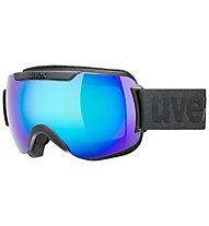 Uvex Downhill 2000 CV - maschera sci, Black