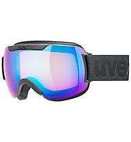 Uvex Downhill 2000 CV - maschera sci, Black Mat