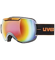 Uvex downhill 2000 FM - maschera da sci, Orange/Black