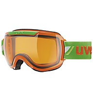 Uvex Downhill 2000 Race - Skibrille, Orange/Green