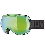 Uvex Downhill 2000 Race - Skibrille, Green Chrome