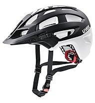 Uvex Finale - casco bici MTB, Black/White