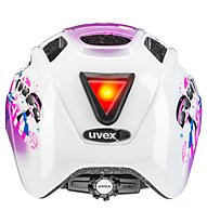 Uvex Finale Junior LED - Radhelm - Kinder, White/Pink