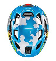 Uvex Finale Junior LED - Radhelm - Kinder, Blue/Yellow