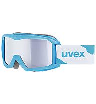 Uvex Flizz LM - maschera sci - bambino, Blue Mat