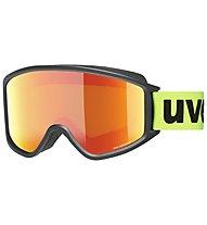 Uvex G.GL 3000 CV - Skibrille, Black/Green