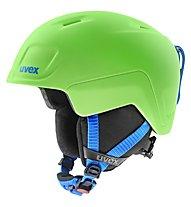 Uvex Heyya Pro - casco sci - bambino, Green/Blue