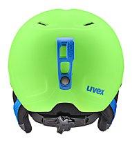 Uvex Heyya Pro - Skihelm - Kinder, Green/Blue