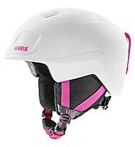 Uvex Heyya Pro - casco sci - bambino, White/Pink