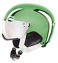 Uvex Hlmt500 Visor Chrome LTD - Skihelm, Green