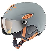 Uvex Hlmt 300 - Skihelm, Grey/Orange
