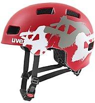 Uvex Hlmt 4 - casco bici - bambino, Red