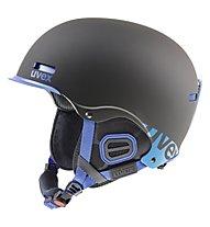 Uvex Hlmt 5 Core - Helm, Black/Cobalt Mat