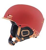 Uvex Hlmt 5 Core - Casco freeride, Red/Orange Mat