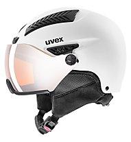 Uvex Hlmt 600 Visor - Skihelm, White Mat