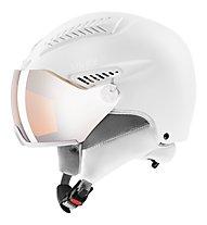 Uvex Hlmt 600 Visor - Skihelm, White
