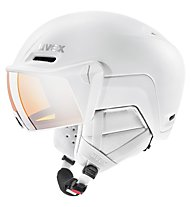 Uvex Hlmt 700 visor - casco con visiera, White Mat