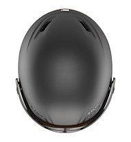 Uvex Hlmt 700 visor - casco con visiera, Black Mat