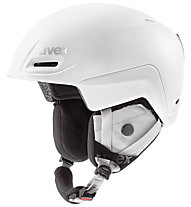 Uvex Jimm - casco sci, White Mat Reflect