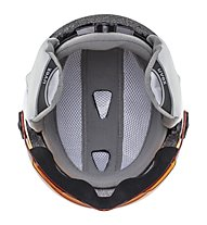 Uvex Junior Visor Pro - Kinder-Skihelm, White Mat