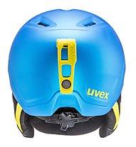 Uvex Manic Pro - Skihelm - Kinder, Blue/Lime