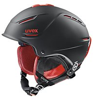 Uvex p1us Pro - casco snowboard, Black/Red