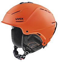 Uvex P1 US Ski- und Snowboardhelm, Dark Orange Mat