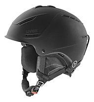 Uvex P1 US - casco sci e snowboard, Black Mat
