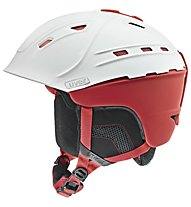 Uvex p2us - Helm, White/Red Mat