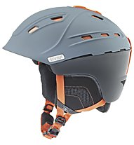 Uvex p2us - Helm, Grey/Orange Mat