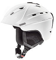 Uvex p2us - casco freeride, White Mat