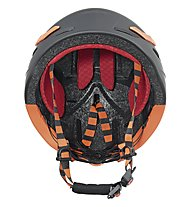 Uvex p.8000 tour - casco, Black/Orange