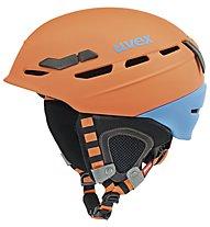 Uvex p.8000 tour - casco, Orange/Blue