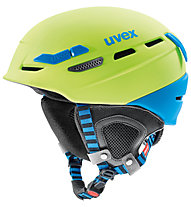 Uvex p.8000 tour - casco, Green/Blue