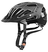 Uvex Casco bici allmountain Quatro, darksilver mat-black