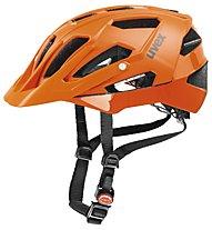 Uvex Casco bici allmountain Quatro, orange matt/shiny