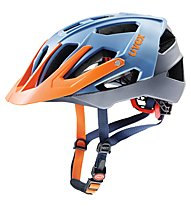Uvex Quatro - casco bici MTB, Blue/Orange