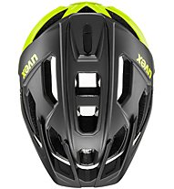Uvex Quatro - casco bici MTB, Black/Yellow