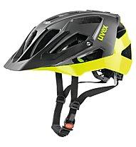 Uvex Quatro - Fahrradhelm MTB, Black/Yellow