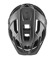 Uvex Quatro - Fahrradhelm MTB, Black/Grey