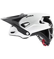 Uvex Quatro Integrale - casco MTB, White/Black