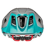Uvex Quatro Integrale - casco MTB, Grey/Green