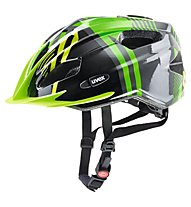Uvex Quatro Junior - Fahrradhelm - Kinder, Green/Grey