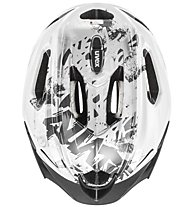 Uvex Quatro Junior - Fahrradhelm - Kinder, White/Grey